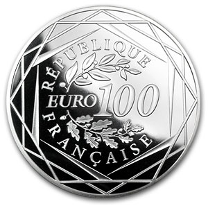 2012 100 Euro Silver Hercules (Face Value Coins)