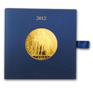 2012 5,000 Euro Gold Hercules (Face Value Coin)
