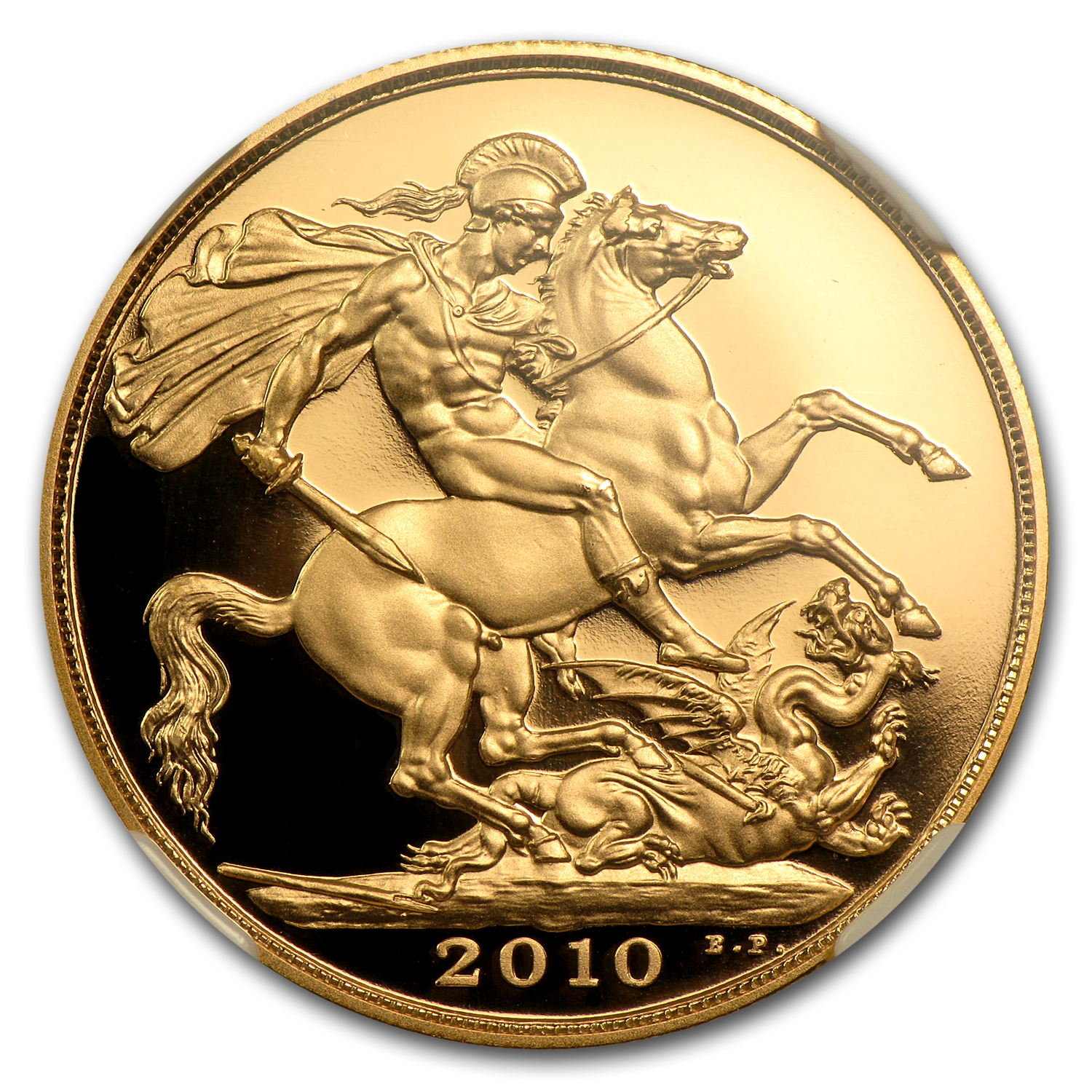 2010 Great Britain Gold £2 PF-70 NGC