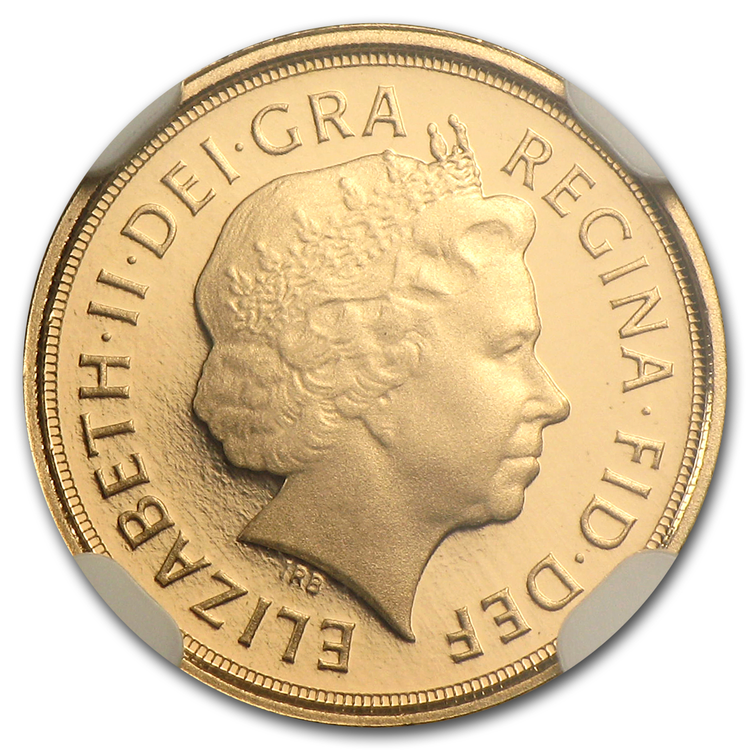 Great Britain 2011 Gold 1/4 Sovereign PR-70 UCAM NGC