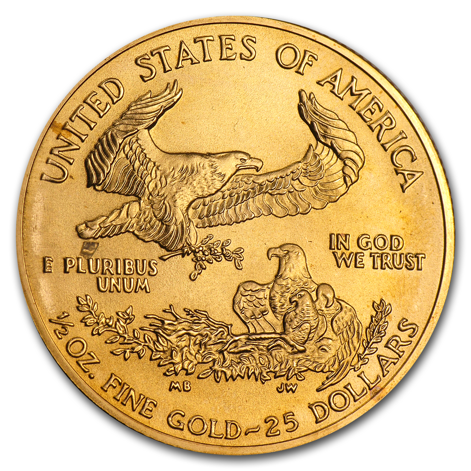 2004 1/2 oz Gold American Eagle (BU)