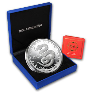 Royal Australian 2013 Year of the Snake - 5 oz Proof-Like