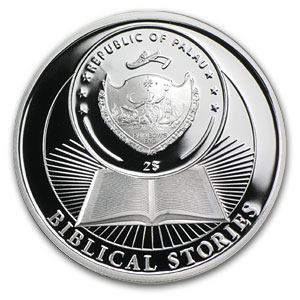 2012 Palau $2 Proof Silver Biblical Stories Birth of Jesus