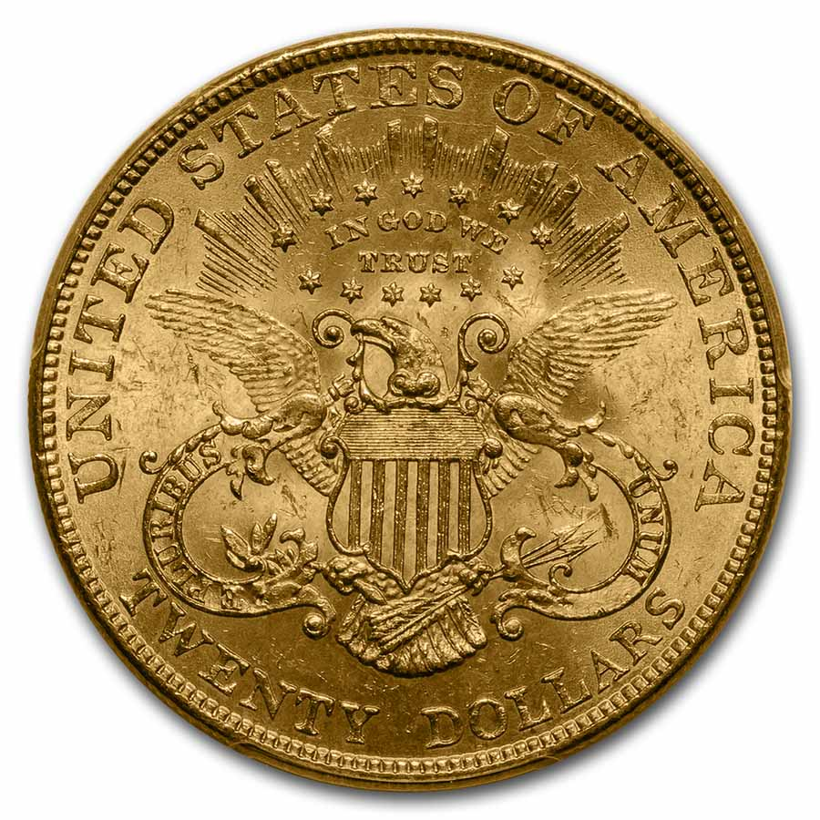 1901 $20 Gold Liberty Double Eagle MS-63 PCGS
