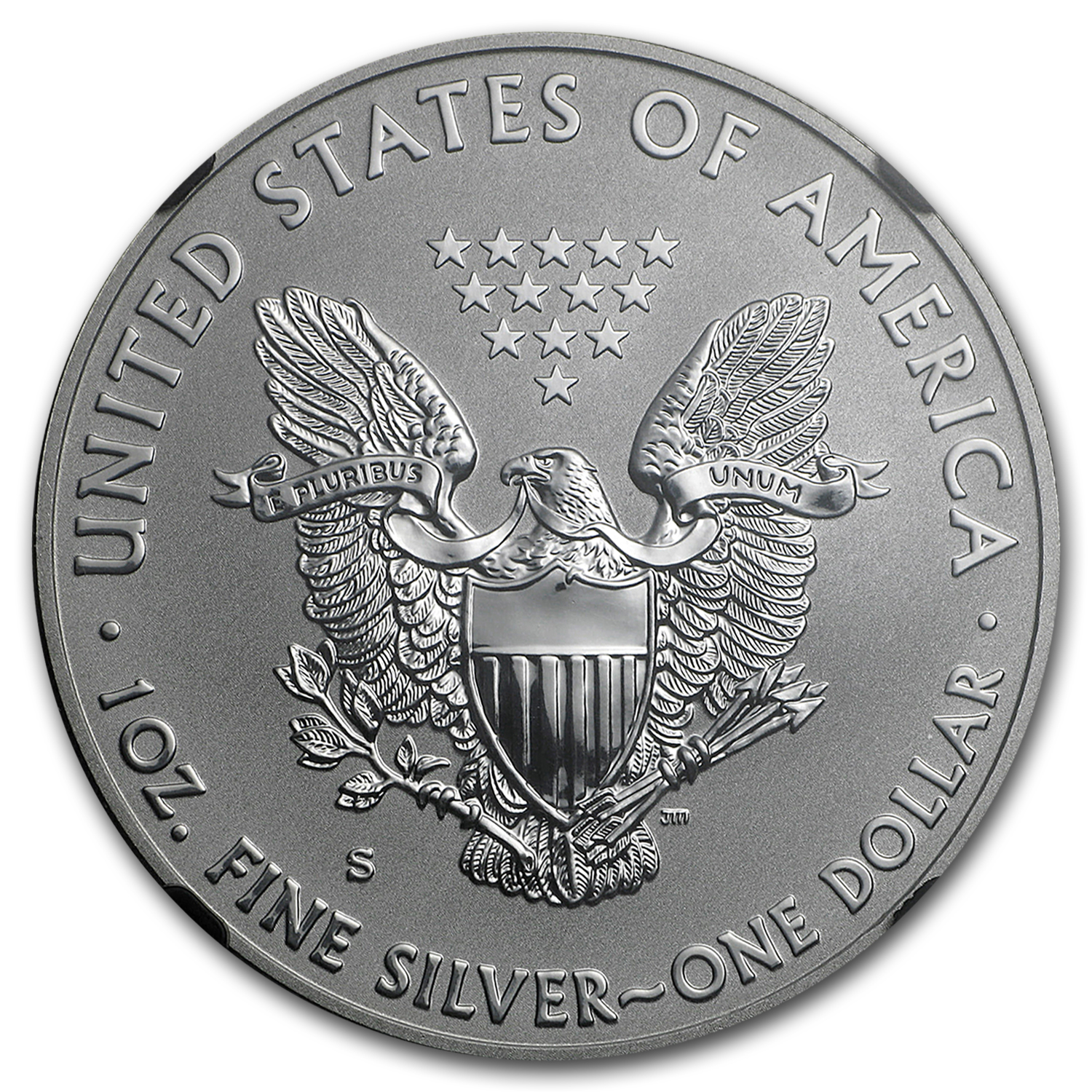 2012-S Reverse Proof Silver Eagle PF-69 NGC