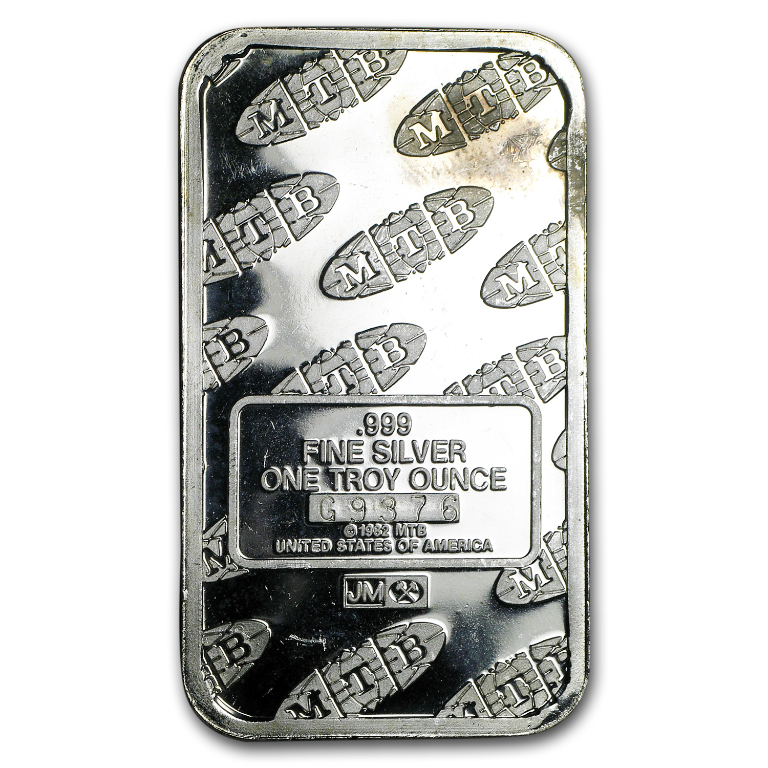 1 oz Silver Bar - Johnson Matthey (Liberty/MTB)