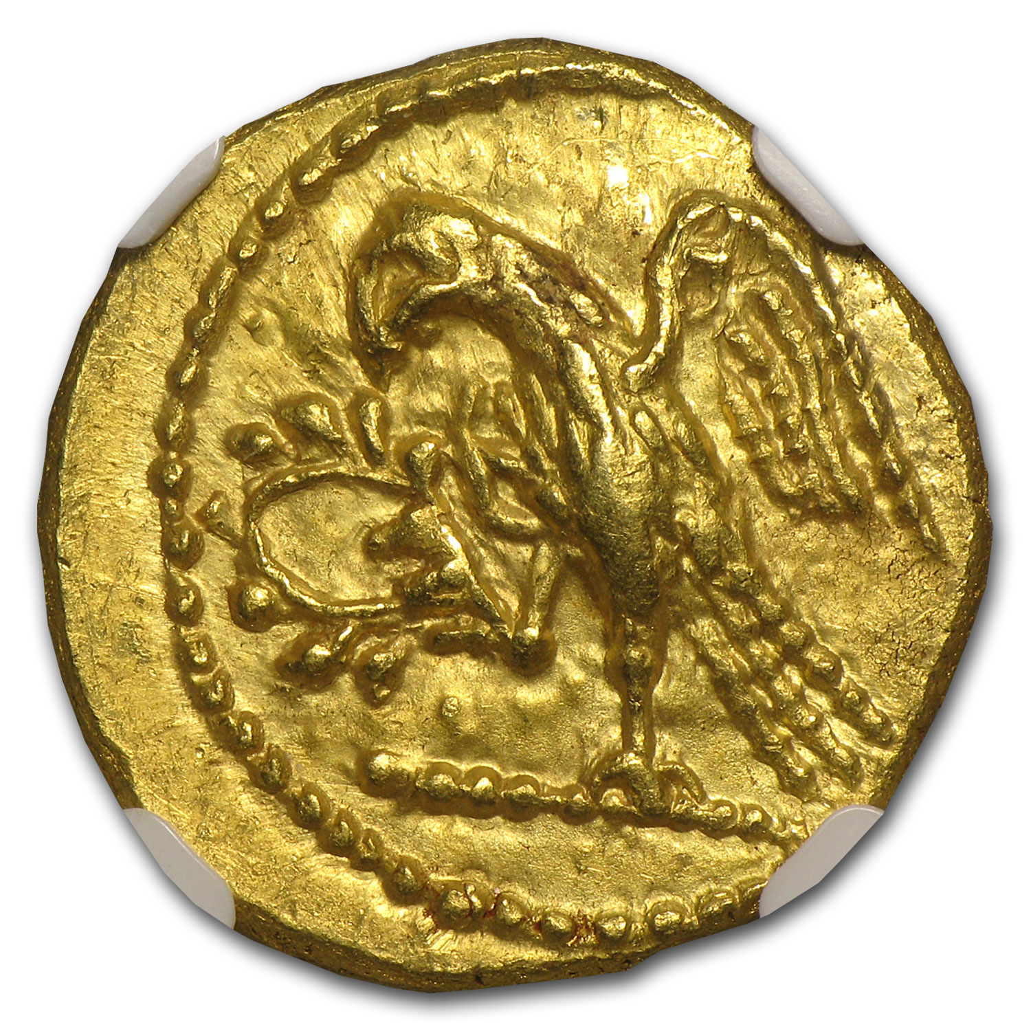 Thracian/Scythian Gold Stater 1st Cent. BC NGC - MS -Uncirculated