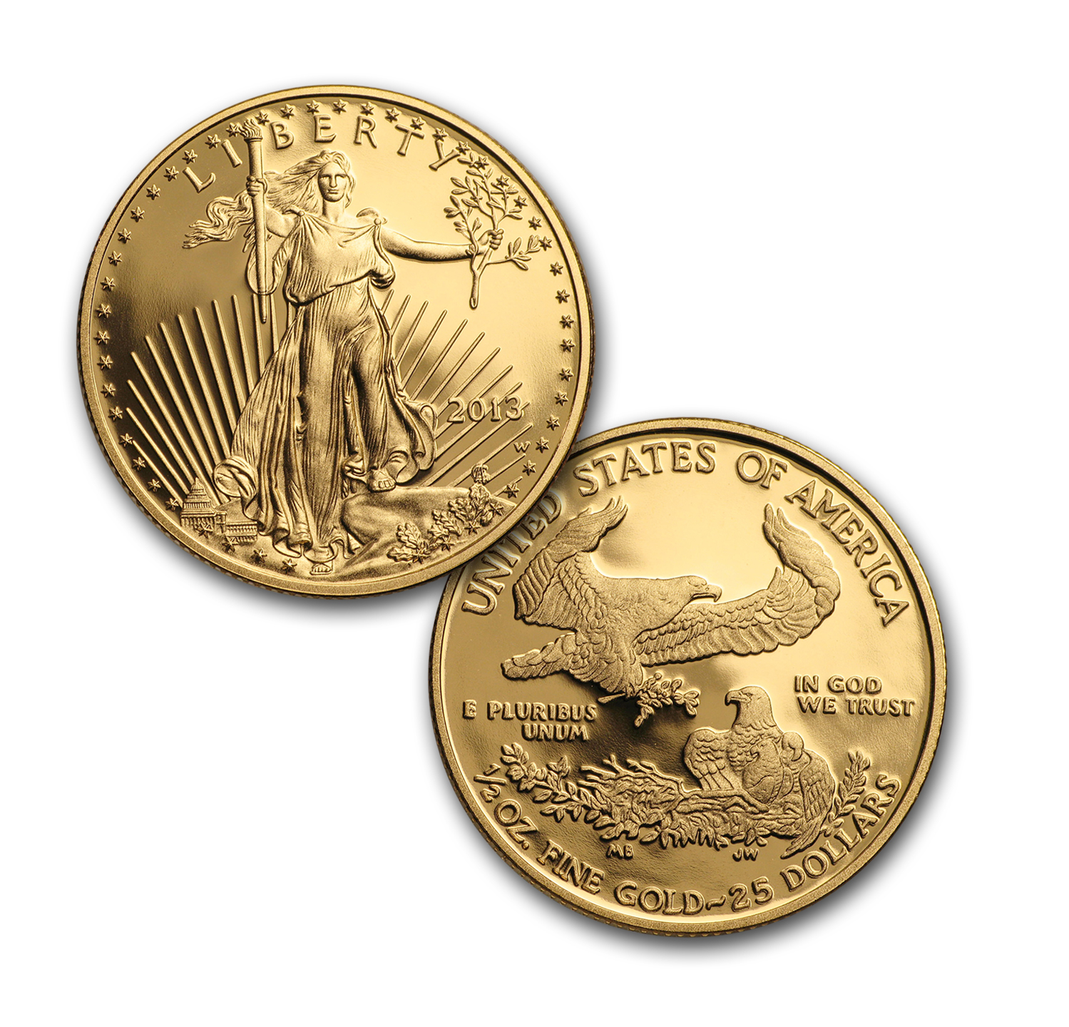 2013-W 4-Coin Proof Gold Eagle Set PR-70 PCGS First Strike