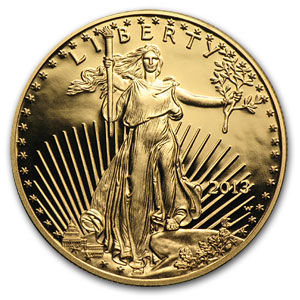 2013-W 1 oz Proof Gold American Eagle PF-70 NGC (ER)