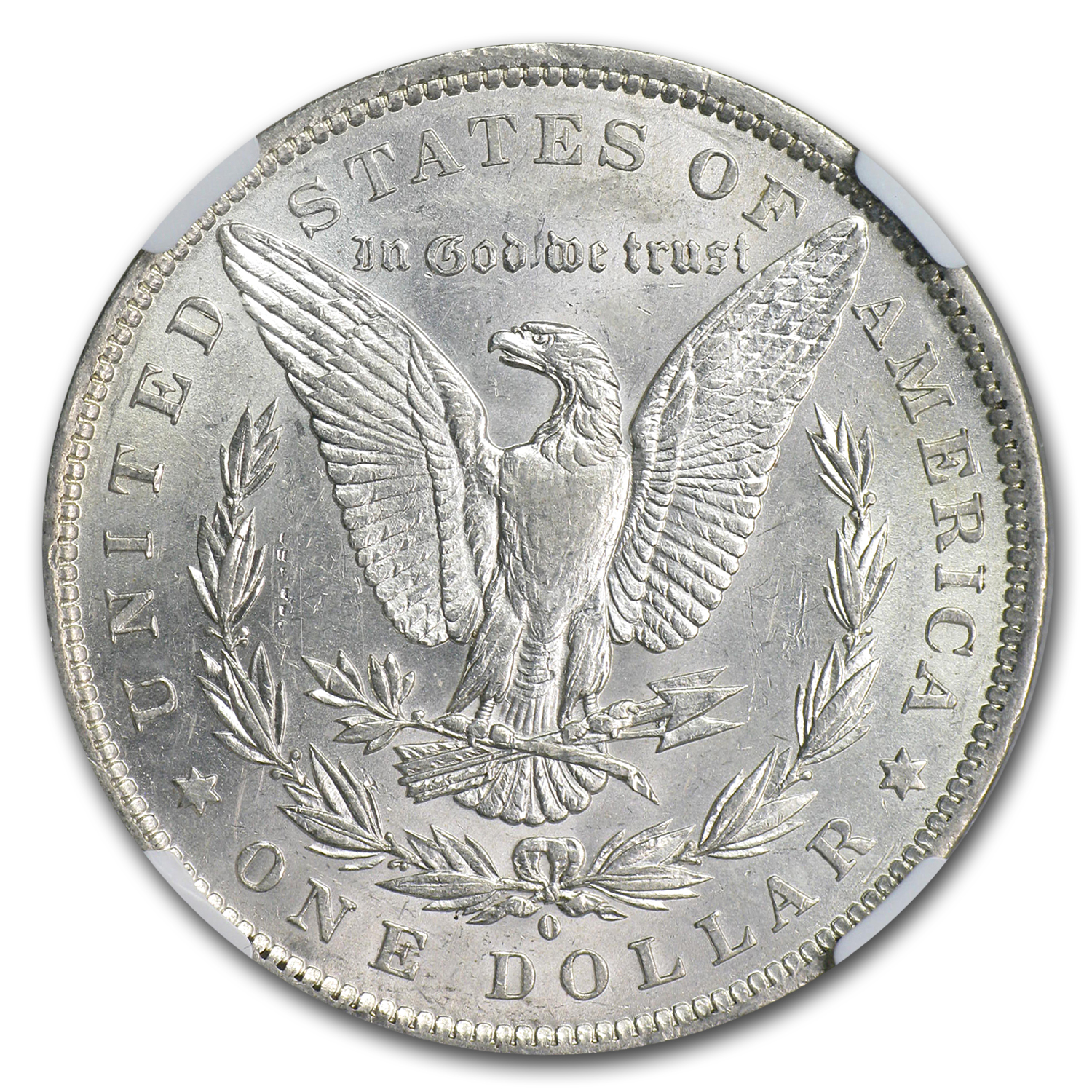 1888-O Morgan Dollar AU-55 NGC (VAM-6, Oval O, Top-100)