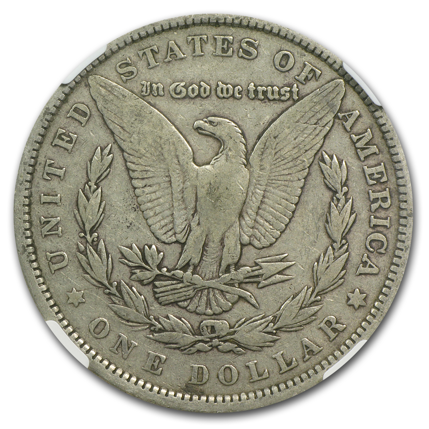 1880 Morgan Dollar Fine-15 NGC (VAM-1A2, Knobbed 8, Top-100)