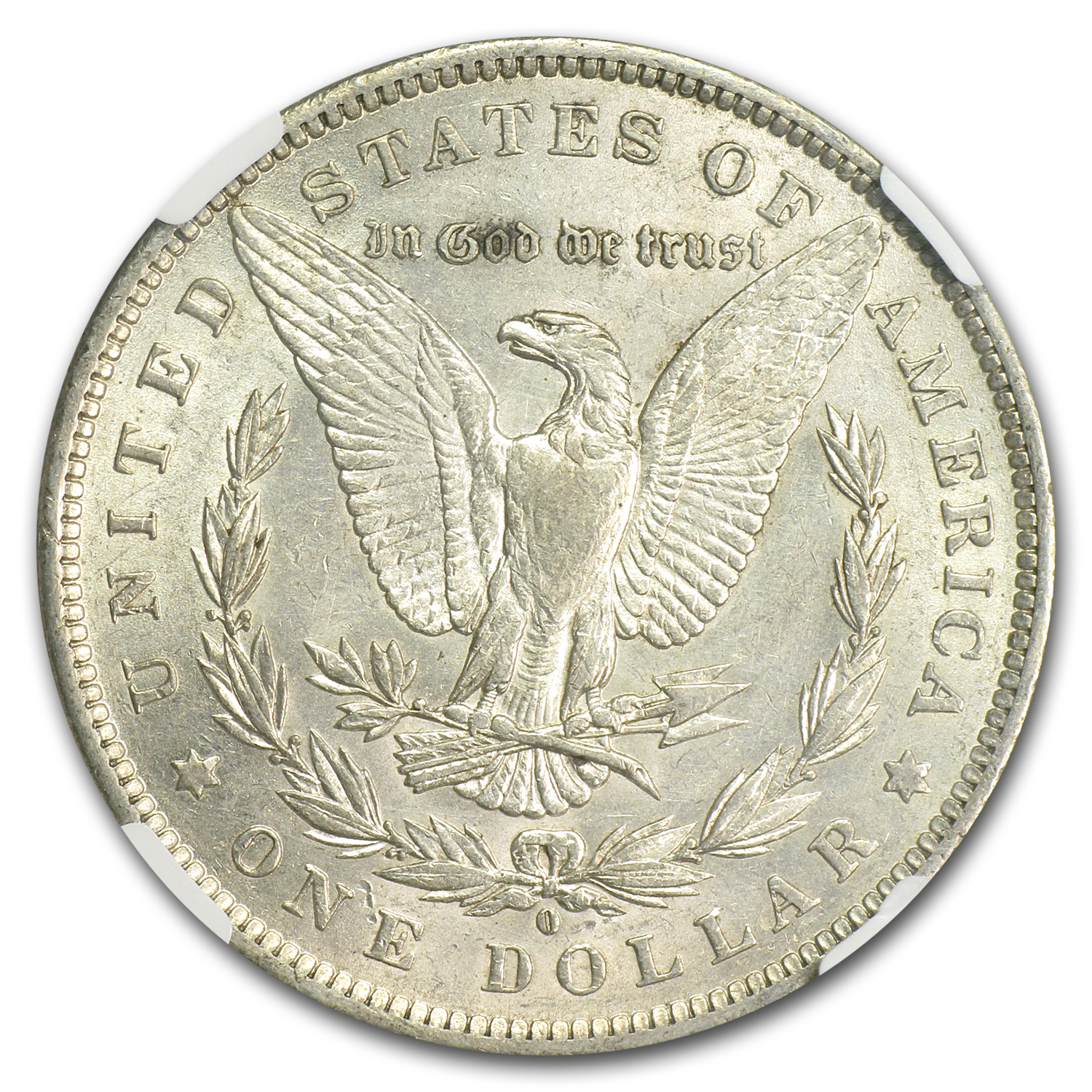 1888-O Morgan Dollar AU-53 NGC (VAM-21, Oval O, Top-100)