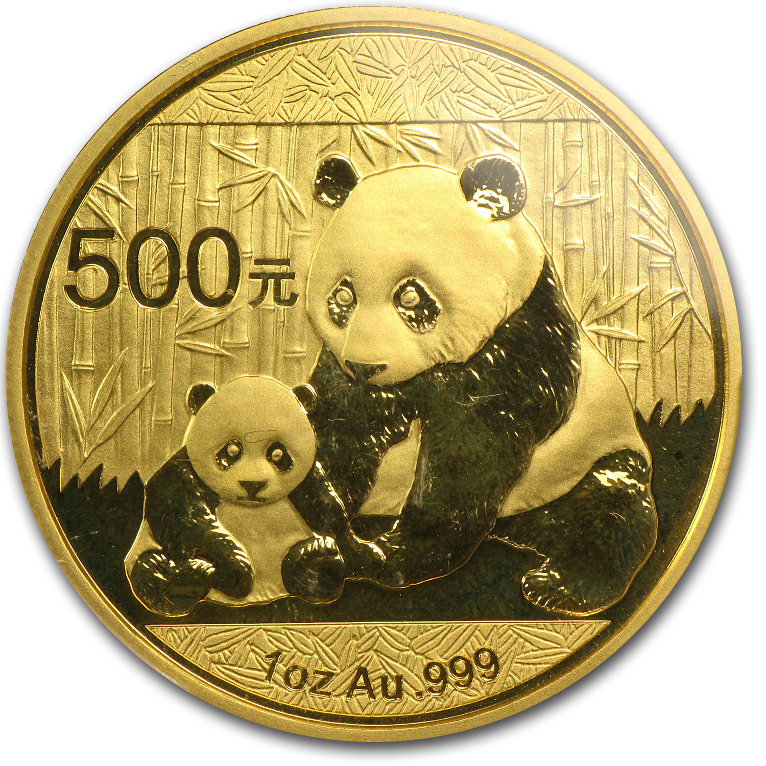 2012 1 oz Gold Chinese Panda MS-70 PCGS (FS)