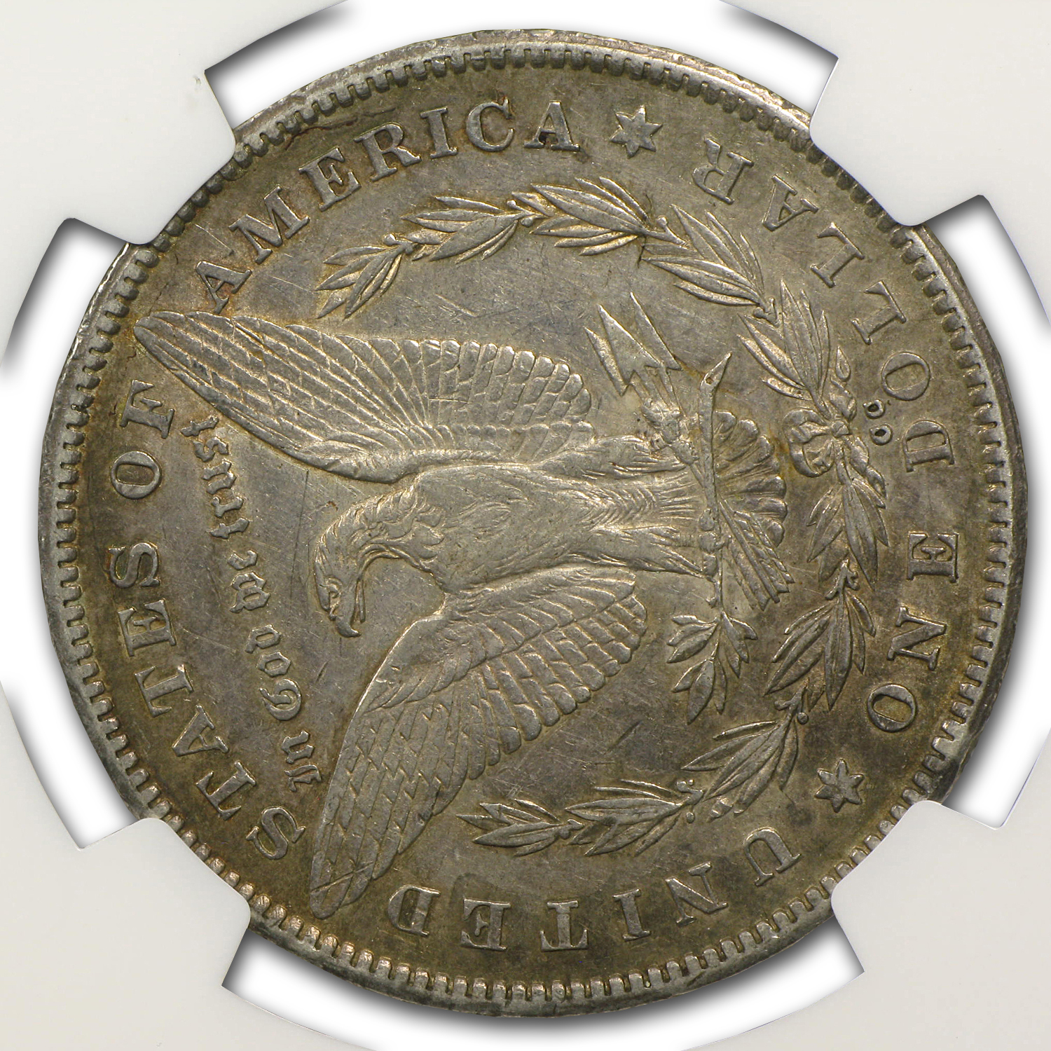 1878-CC Morgan Dollar XF-45 NGC (90 Degree CW Rotated Rev)