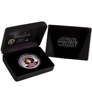 2012 Star Wars 1oz Silver $2 Niue - Queen Amidala (W/Box & COA)