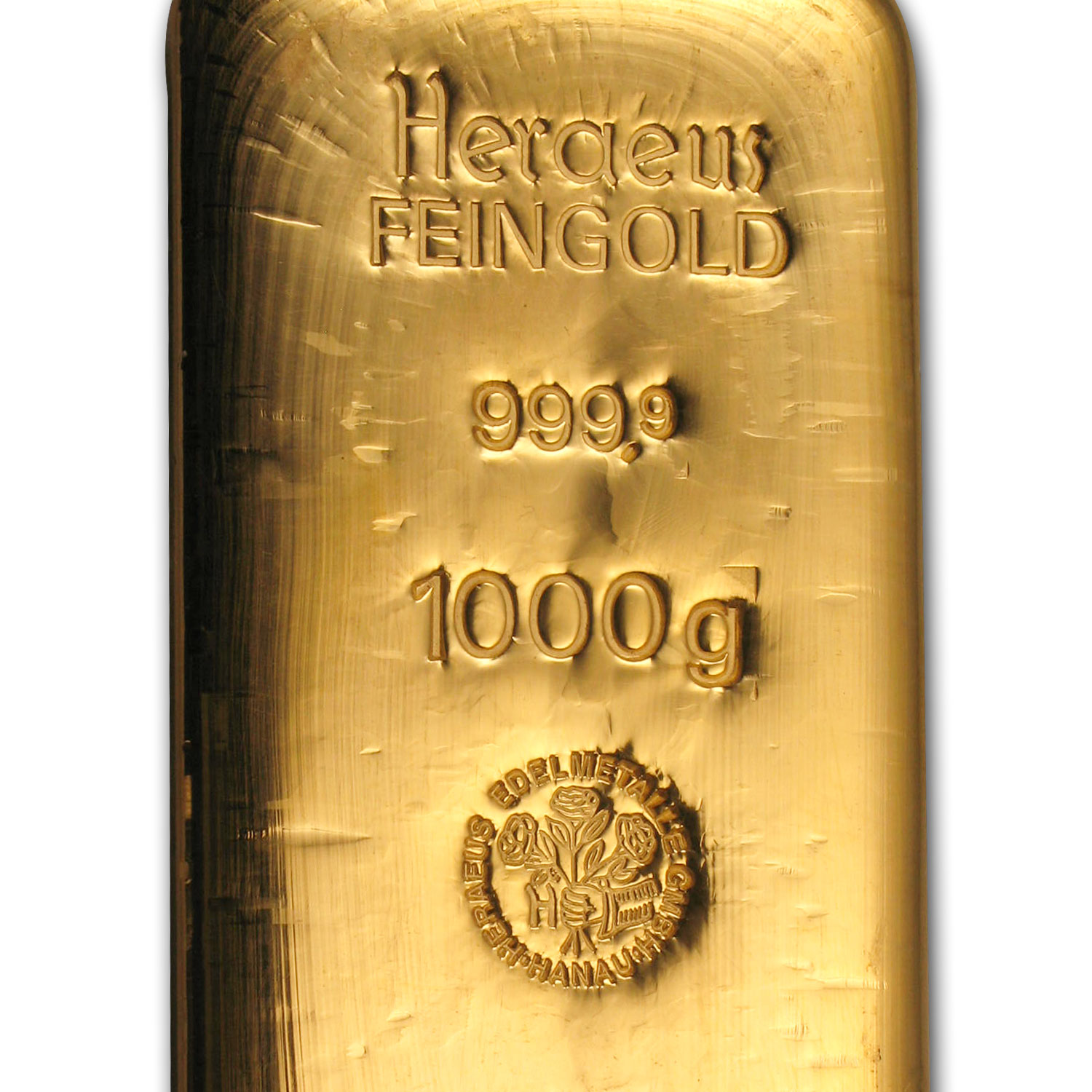 1 kilo Gold Bar - Heraeus (Aug 5th)