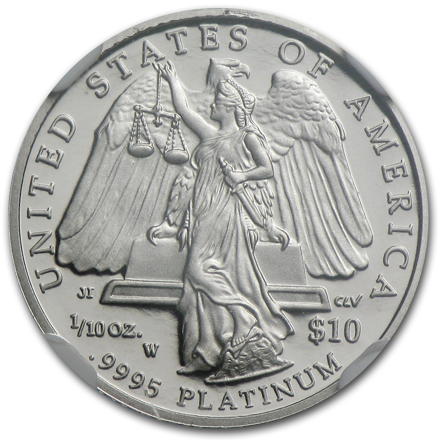 2008-W 1/10 oz Proof Platinum American Eagle PF-70 NGC