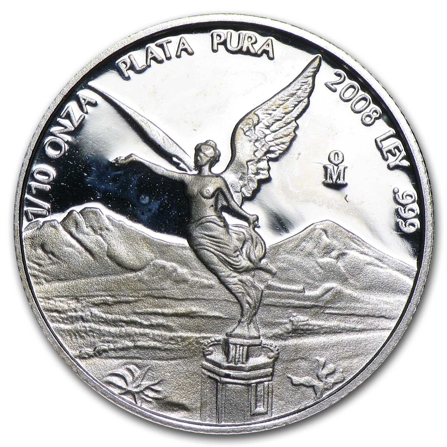2008 Mexico 1/10 oz Silver Libertad Proof