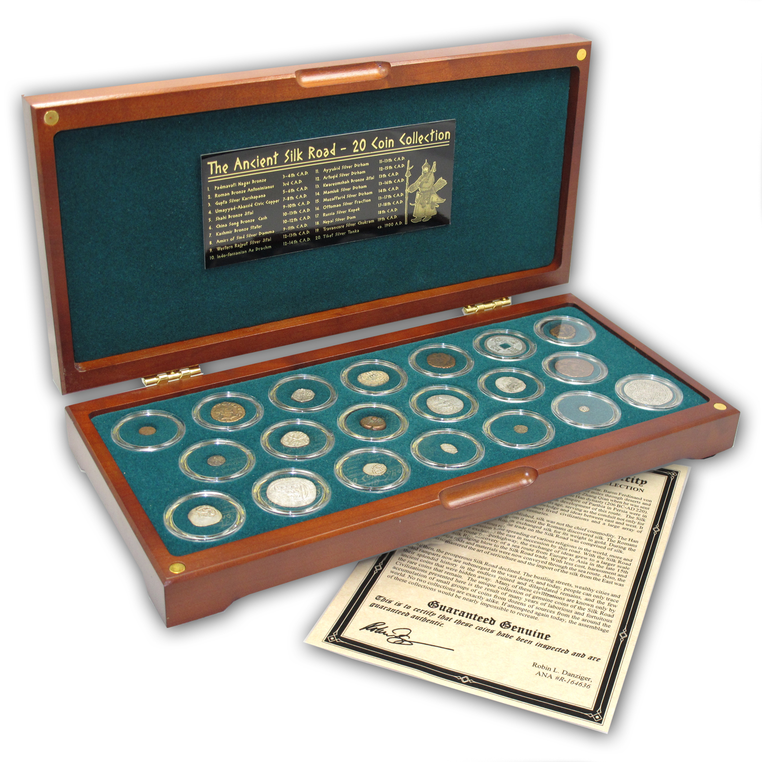 Ancient Silk Road Silver & Bronze Coin Collection