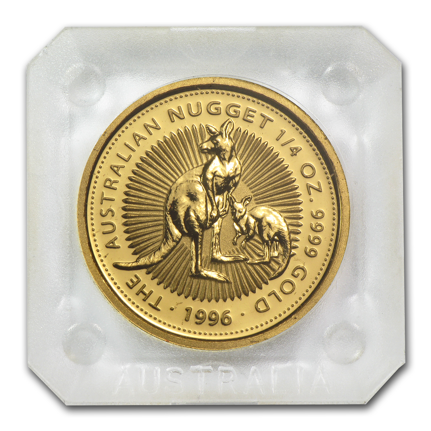 1996 1/4 oz Australian Gold Nugget