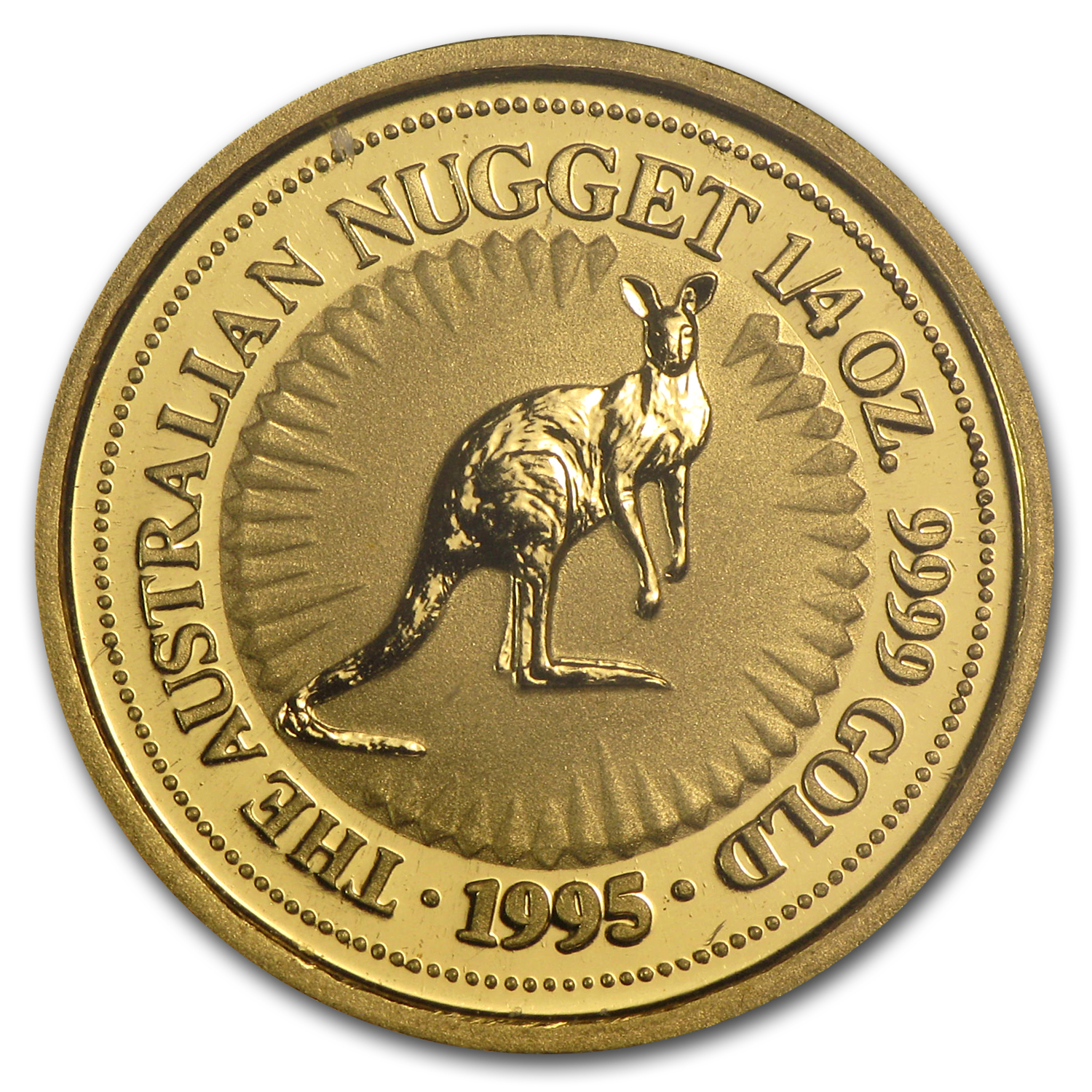 1995 1/4 oz Australian Gold Nugget