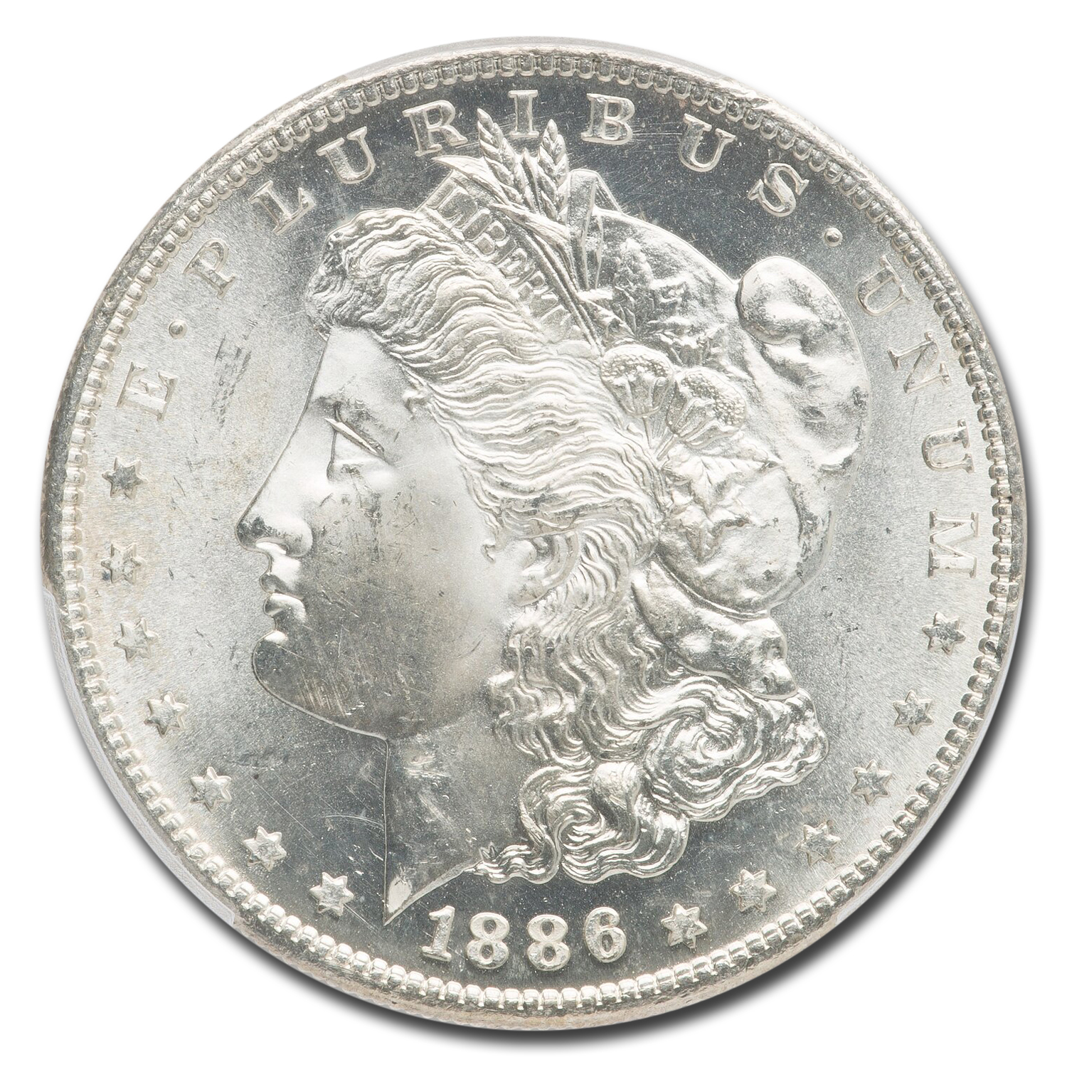 1886-S Morgan Dollar MS-65 PCGS