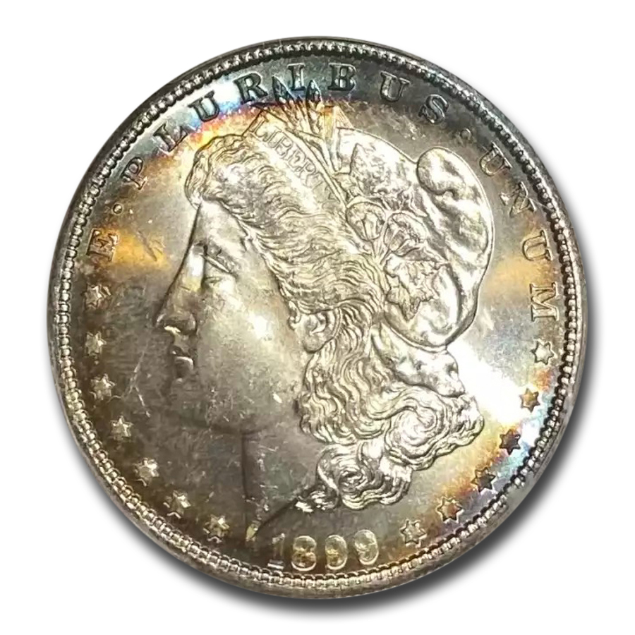 1899 Morgan Dollar MS-66 PCGS