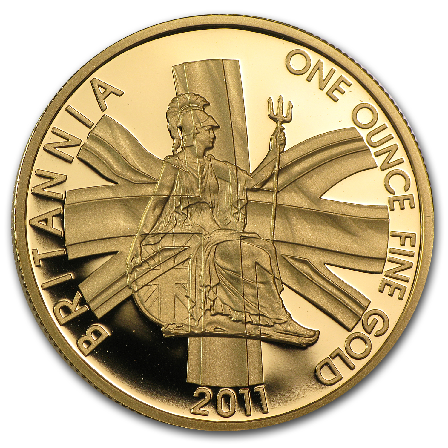 2011 1 oz Proof Gold Britannia - Capsule