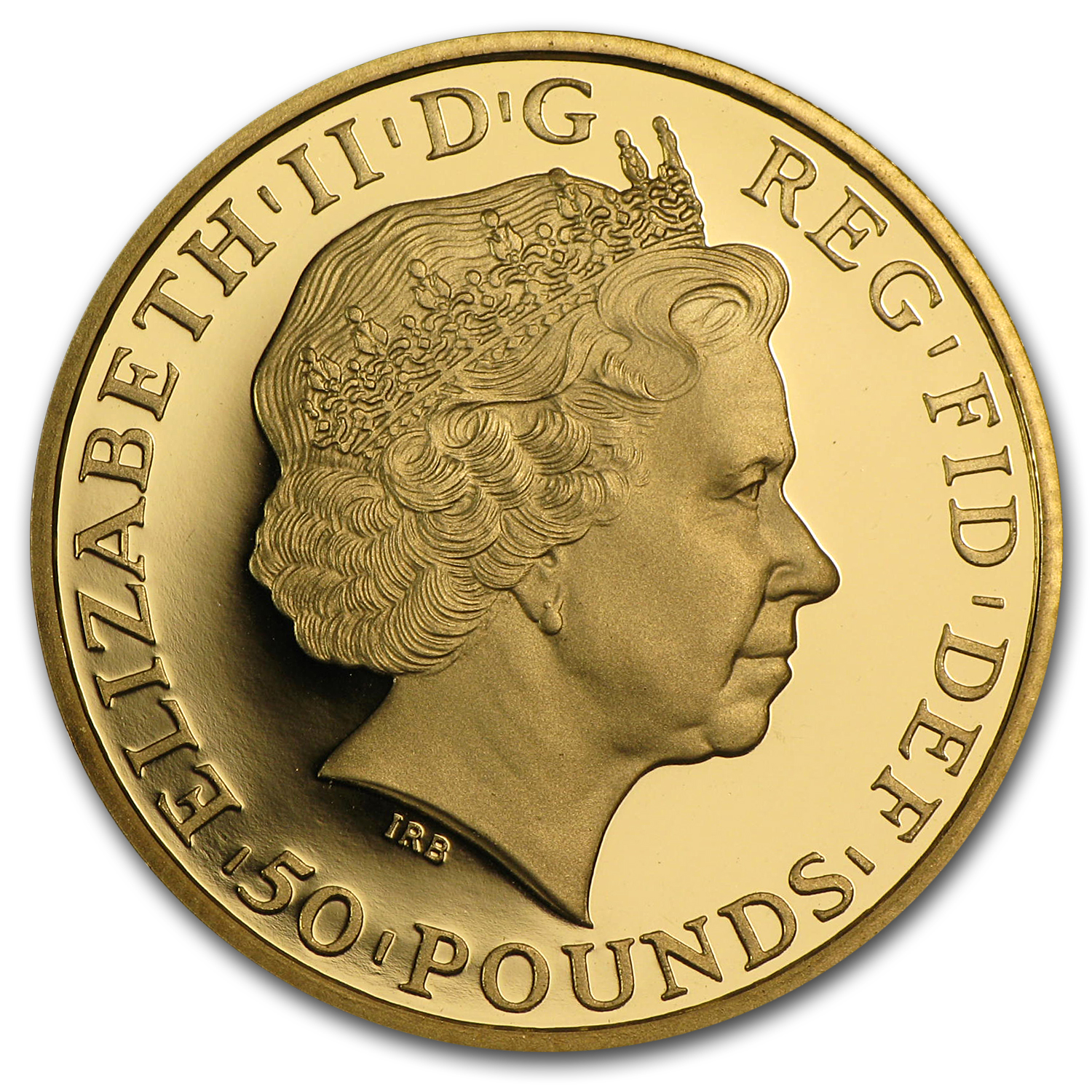 2011 1/2 oz Proof Gold Britannia - Capsule