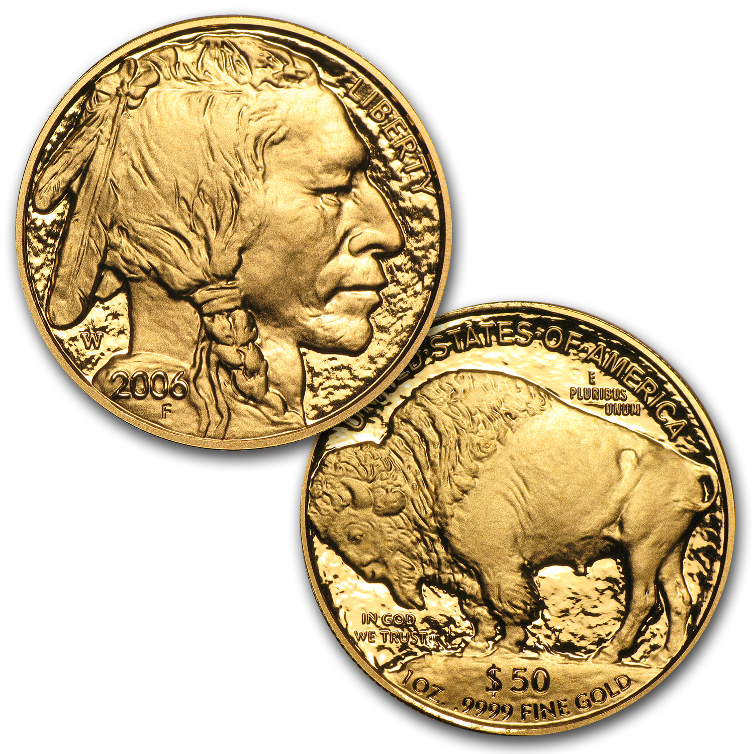 2006-2013 1 oz Proof Gold Buffalo Set (w/Box & CoA)