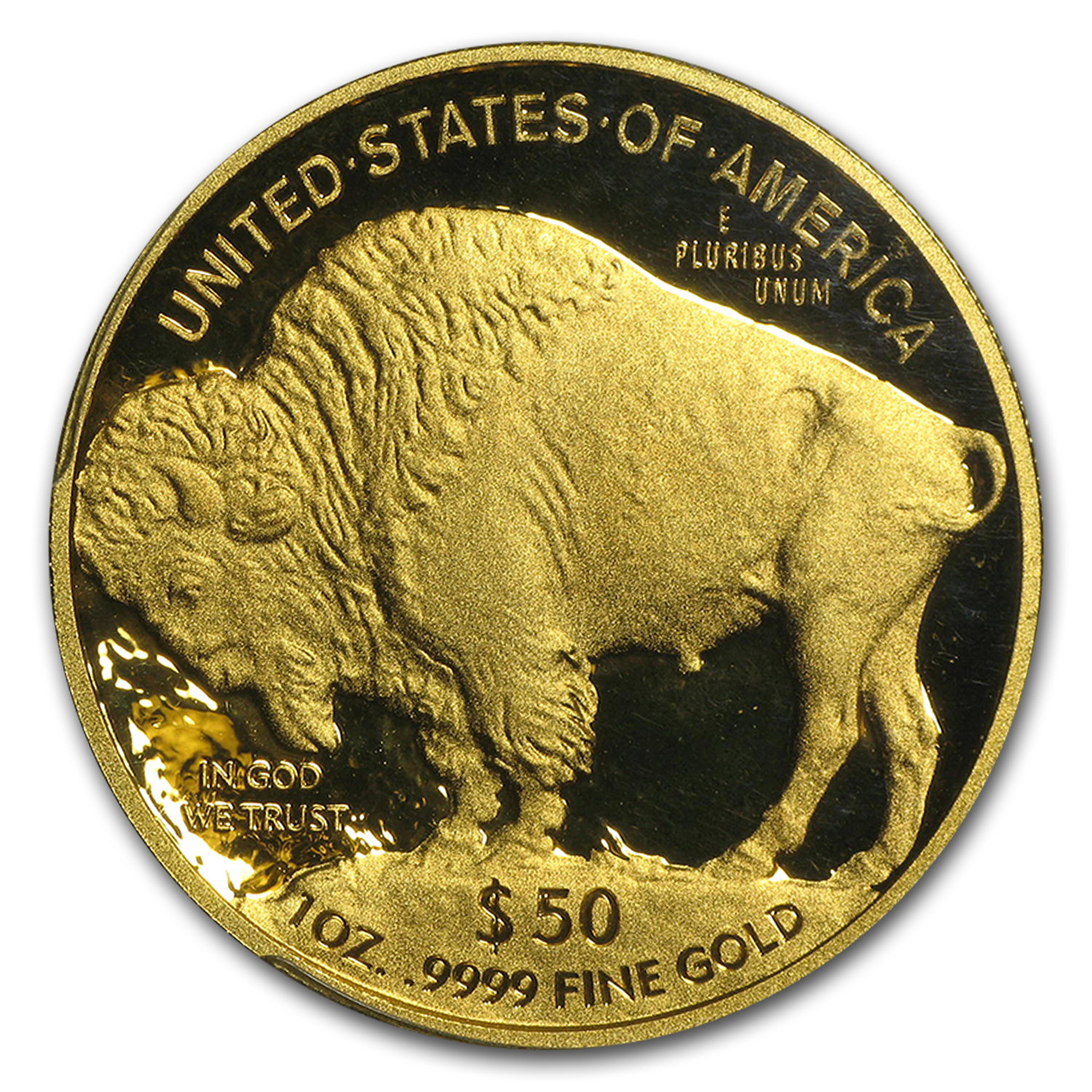 2013-W 1 oz Proof Gold Buffalo PR-70 PCGS (FS, Black Diamond)