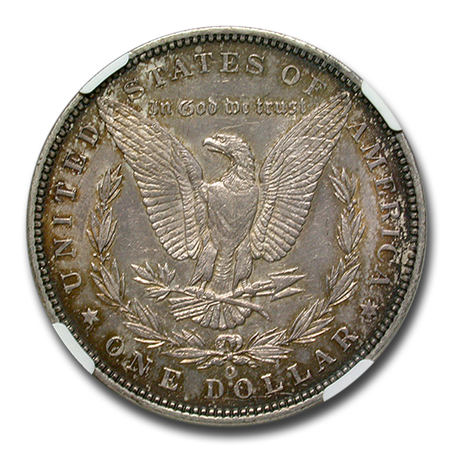 1888-O Morgan Dollar AU-55 NGC VAM-4 Hot Lips Doubled Die Top-100