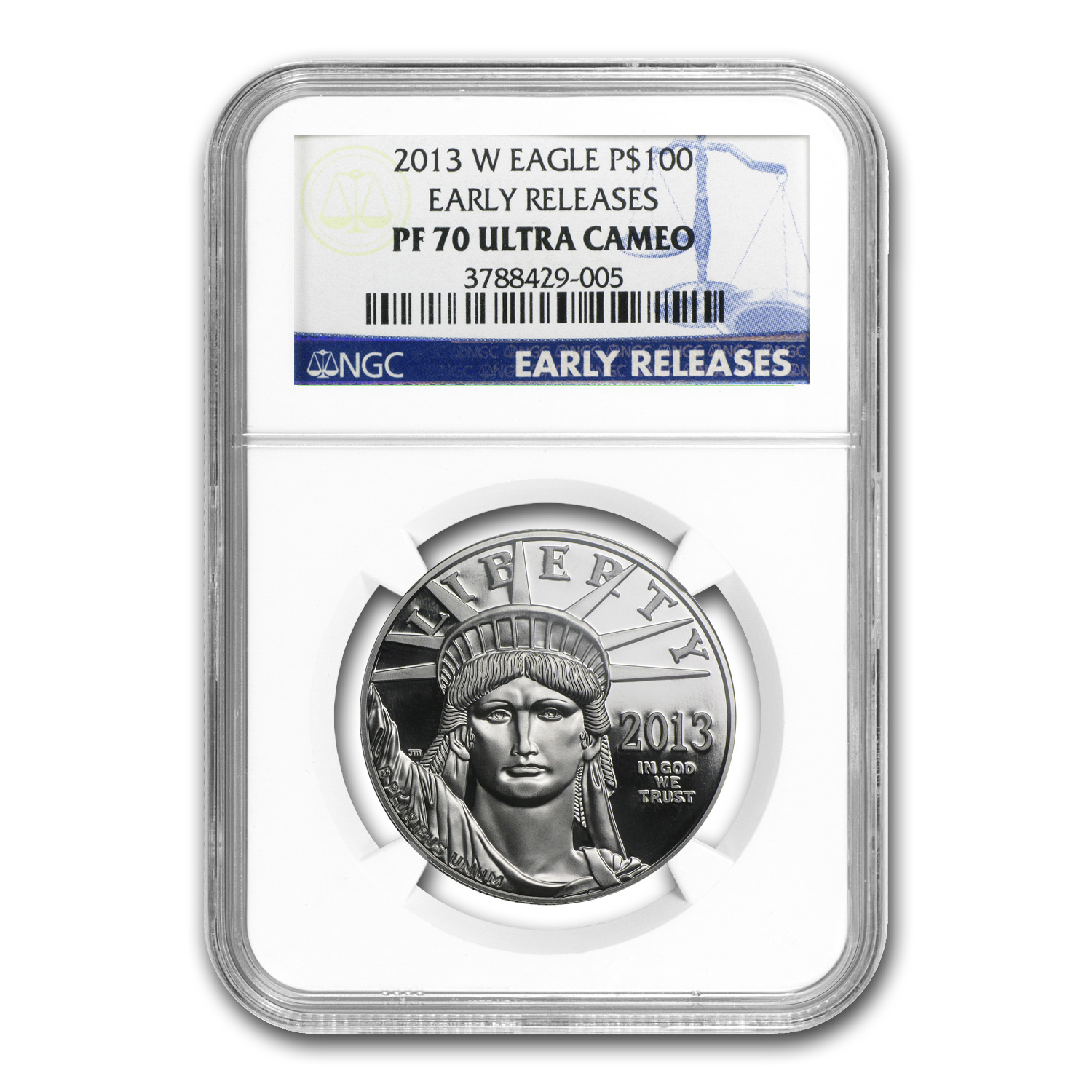 2013-W 1 oz Proof Platinum American Eagle PF-70 NGC (ER)
