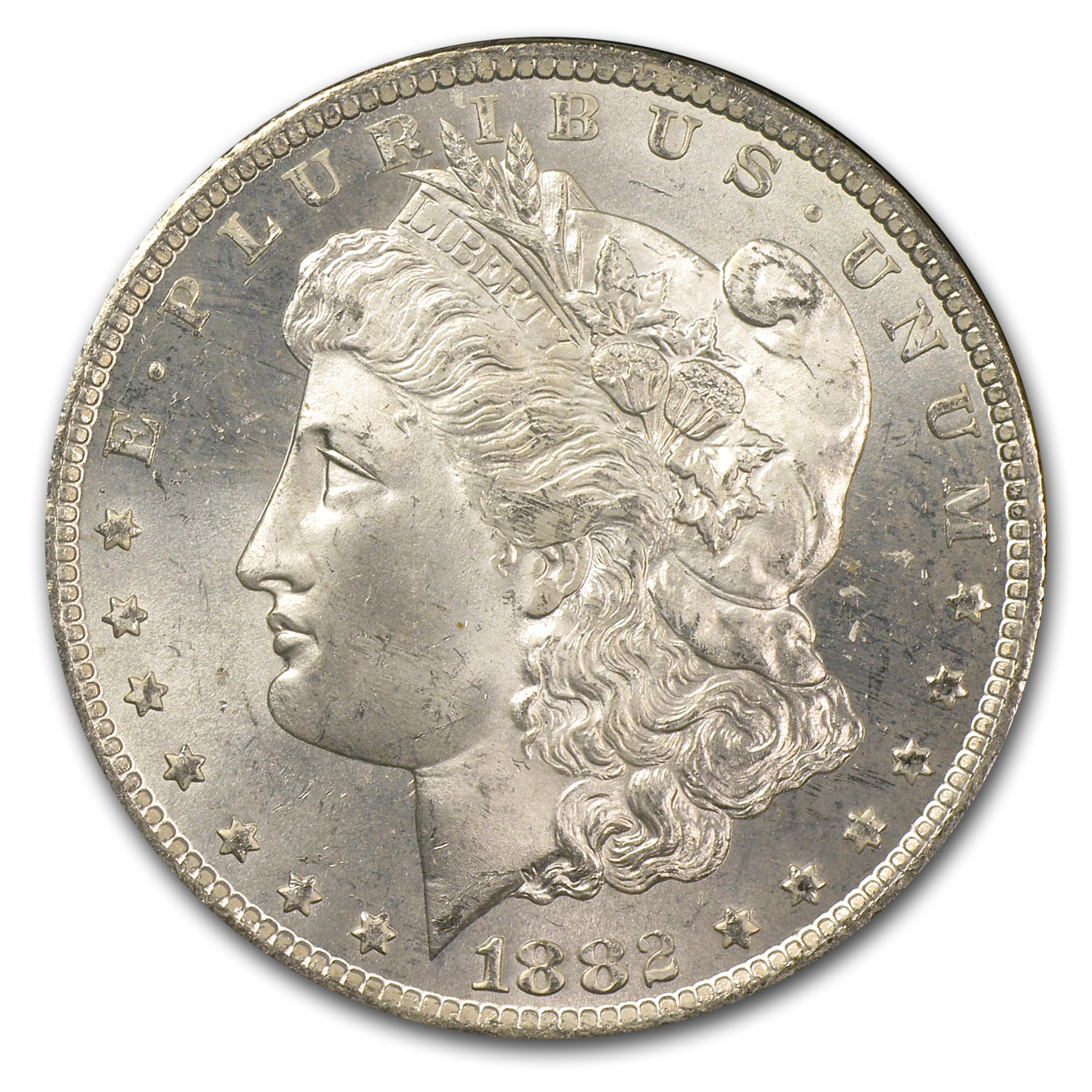 1882-CC Morgan Dollar MS-64+ Plus NGC (GSA)