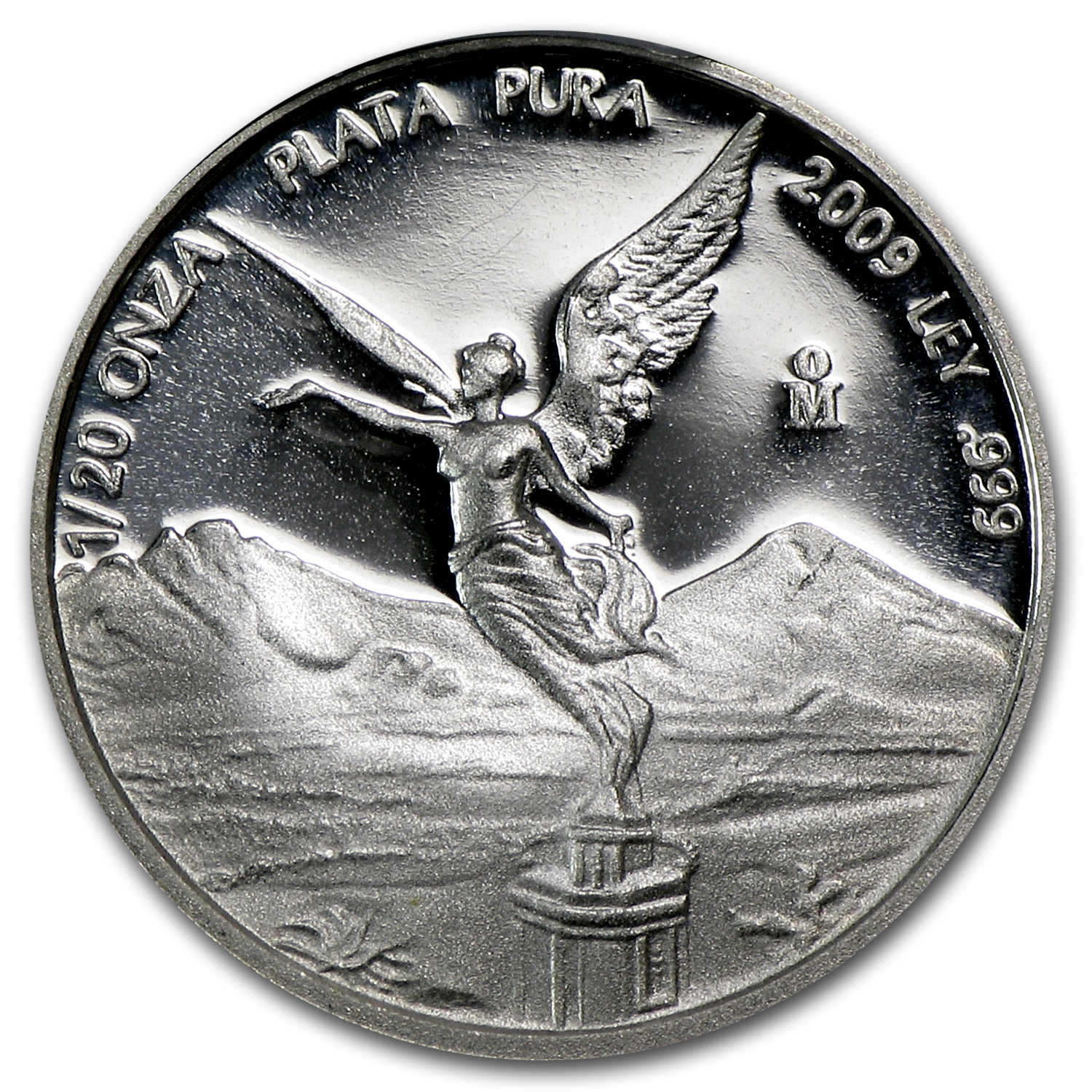 2009 Mexico 1/20 oz Proof Silver Libertad PR-70 PCGS