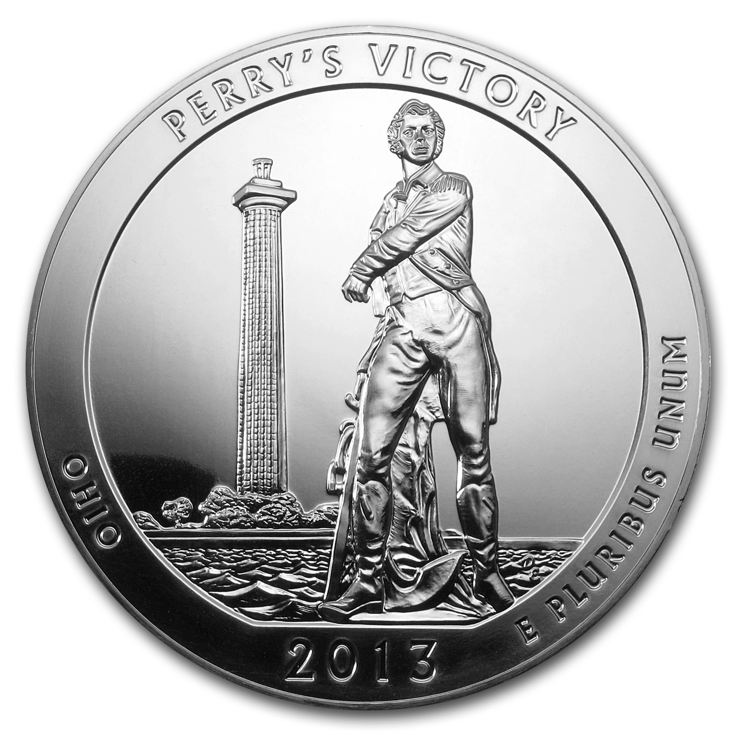 2013 5 oz Silver ATB Perry's Victory and Peace Park, OH