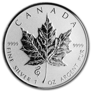 2013 500-Coin 1 oz Silver Maple Leaf Snake Privy Box (Sealed)