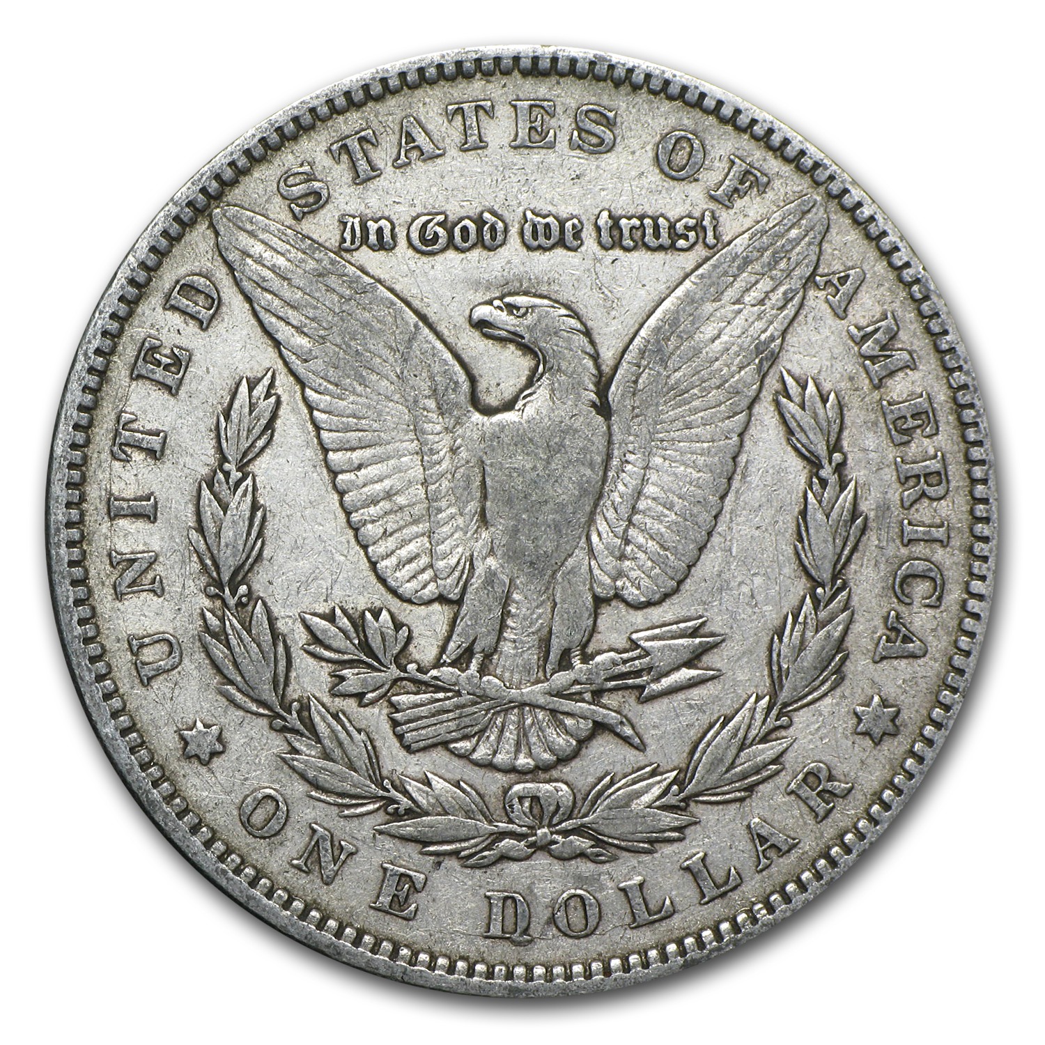 1887 Morgan Dollar Very Fine VAM-1A Donkey Tail Top-100