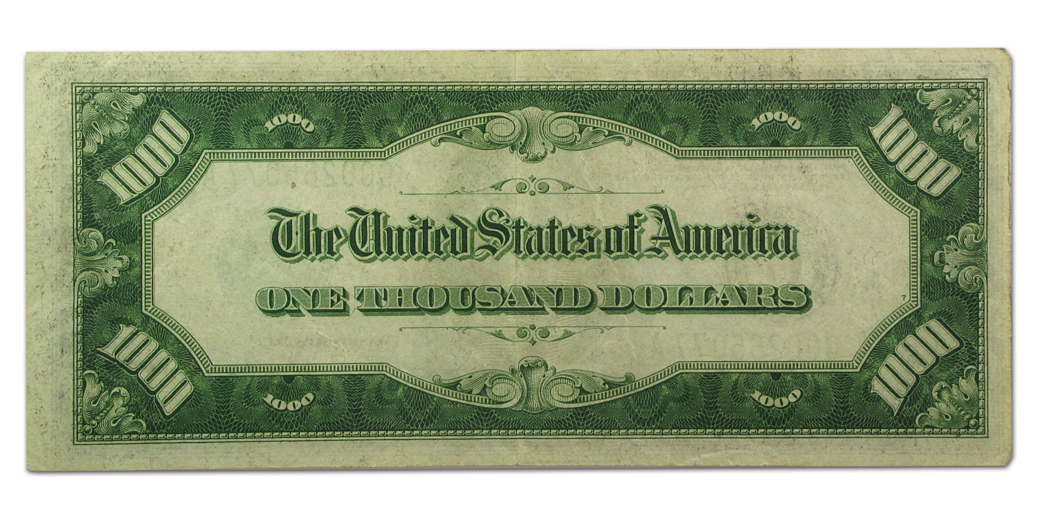 1934-A (G-Chicago) $1,000 FRN PMGS (Extra Fine)-45)