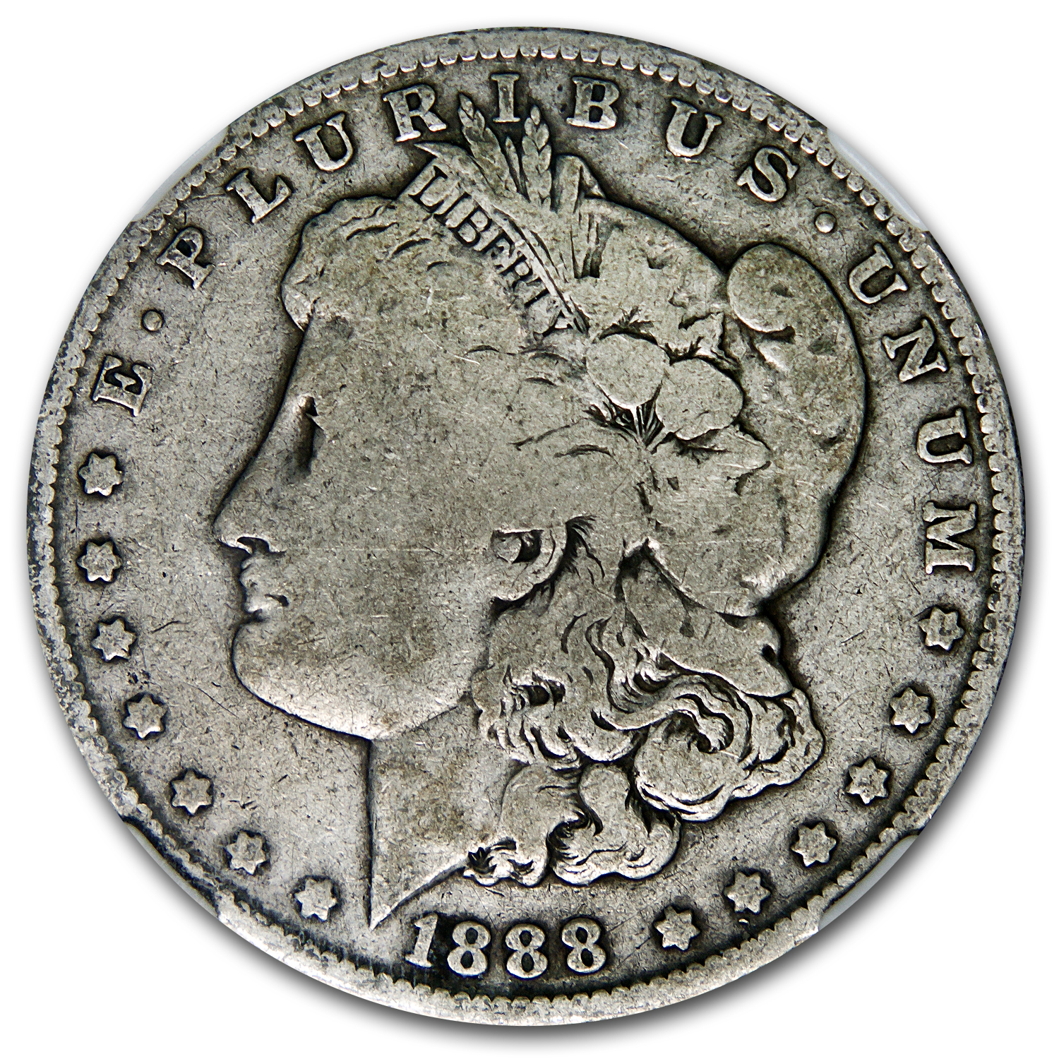 1888-O Good-6 NGC (VAM-4, Hot Lips, Doubled Die Obverse, Top-100)
