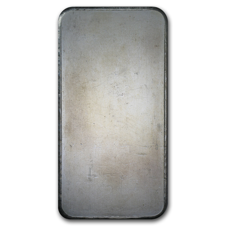 10 Oz Silver Bar Engelhard Tall Maple Leaf 10 Oz