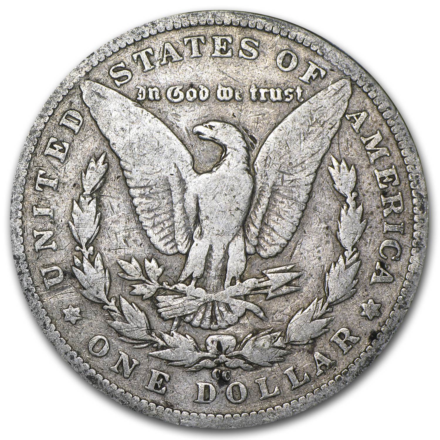 1890-CC Morgan Dollar Good Details (VAM-4, TailBar, Top-100)
