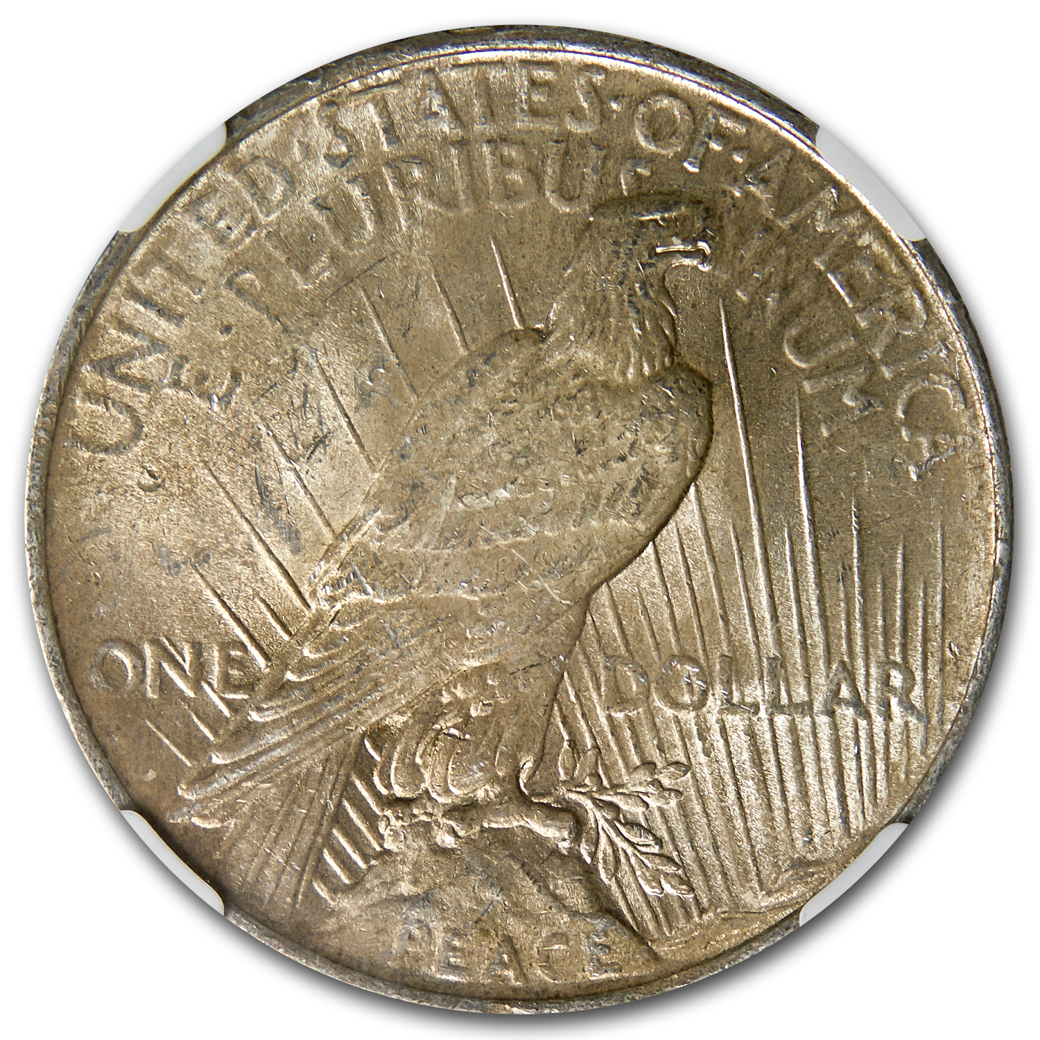 1922 Peace Dollar MS-62 NGC (VAM-5A, Scar Cheek LDS, Top-50)