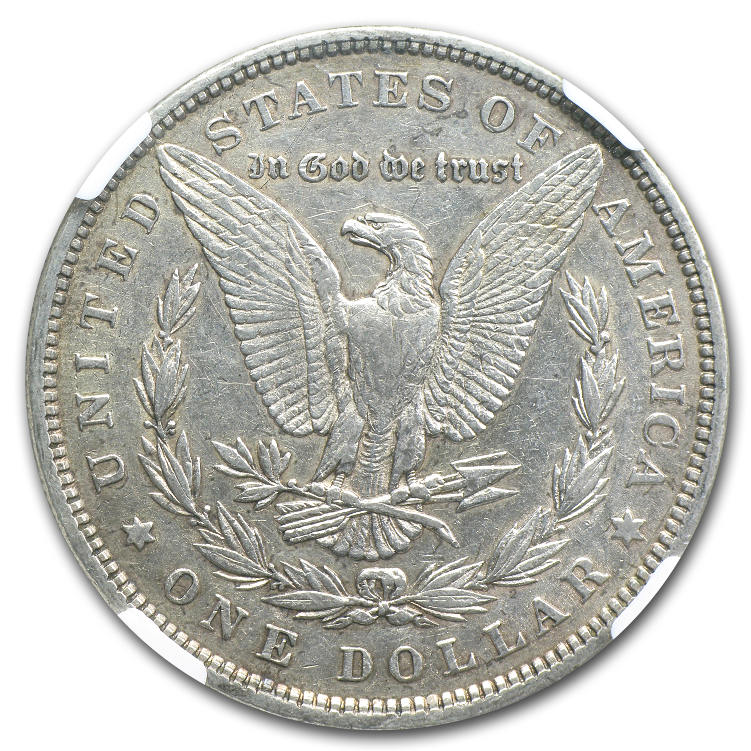 1880/79 Morgan Dollar XF-45 NGC (VAM-23, 80/79 Overdate, Top-100)