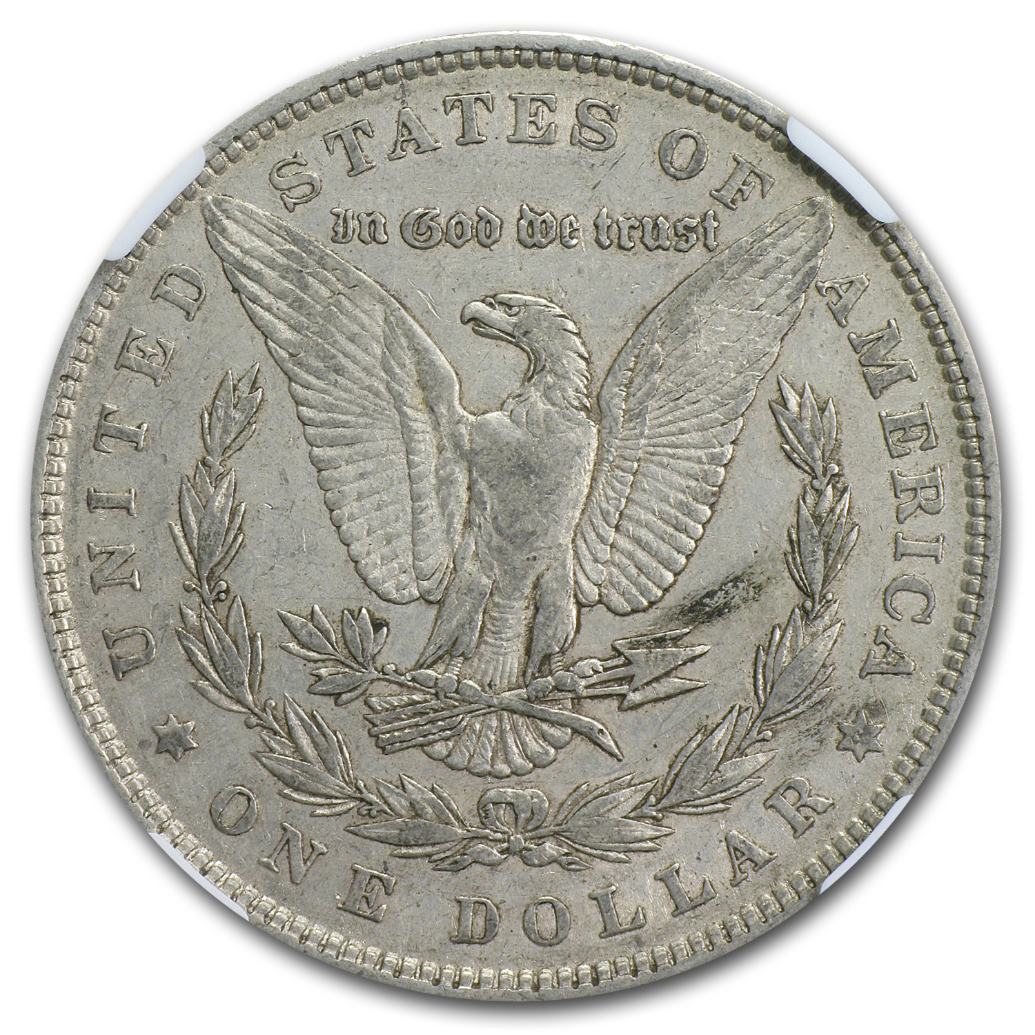 1880/79 Morgan Dollar XF-40 NGC (VAM-23, 80/79 Overdate, Top-100)