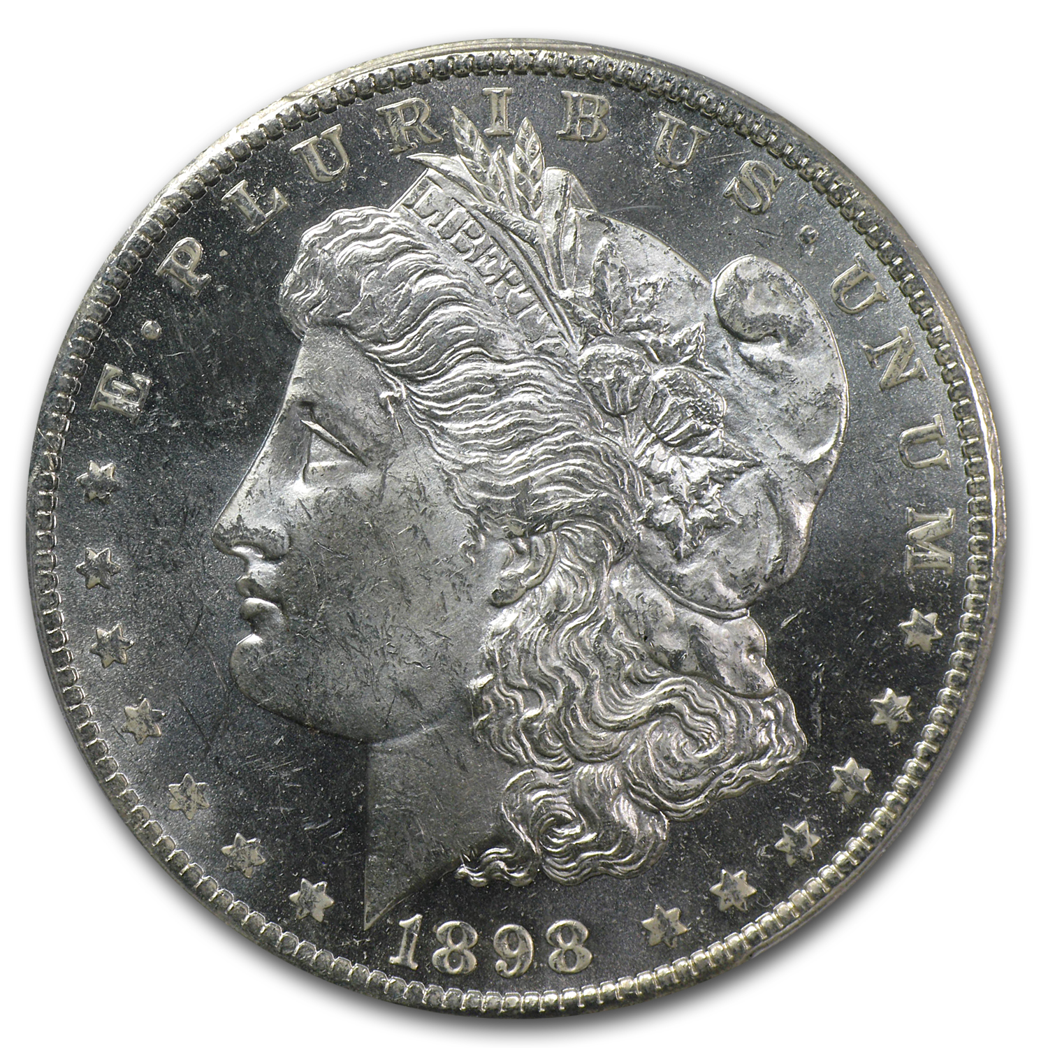 1898-O Morgan Dollar MS-63 PL Proof Like PCGS