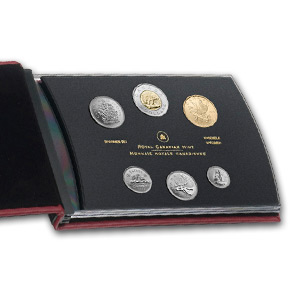 2013 RCM 6-Coin Blue Winged Teal Special Edition Specimen Set