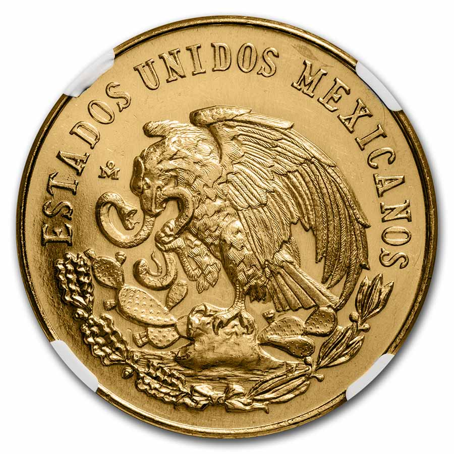 1962 Mexico Cinco De Mayo Gold Medal NGC MS64