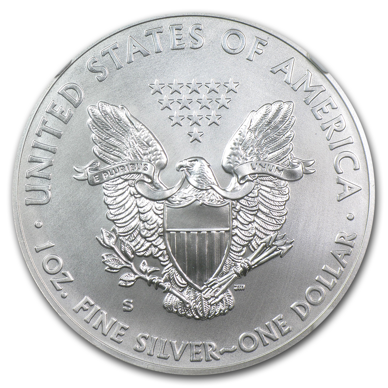 2011-S Silver Eagle 25th Anniversary MS-69 NGC (ER)