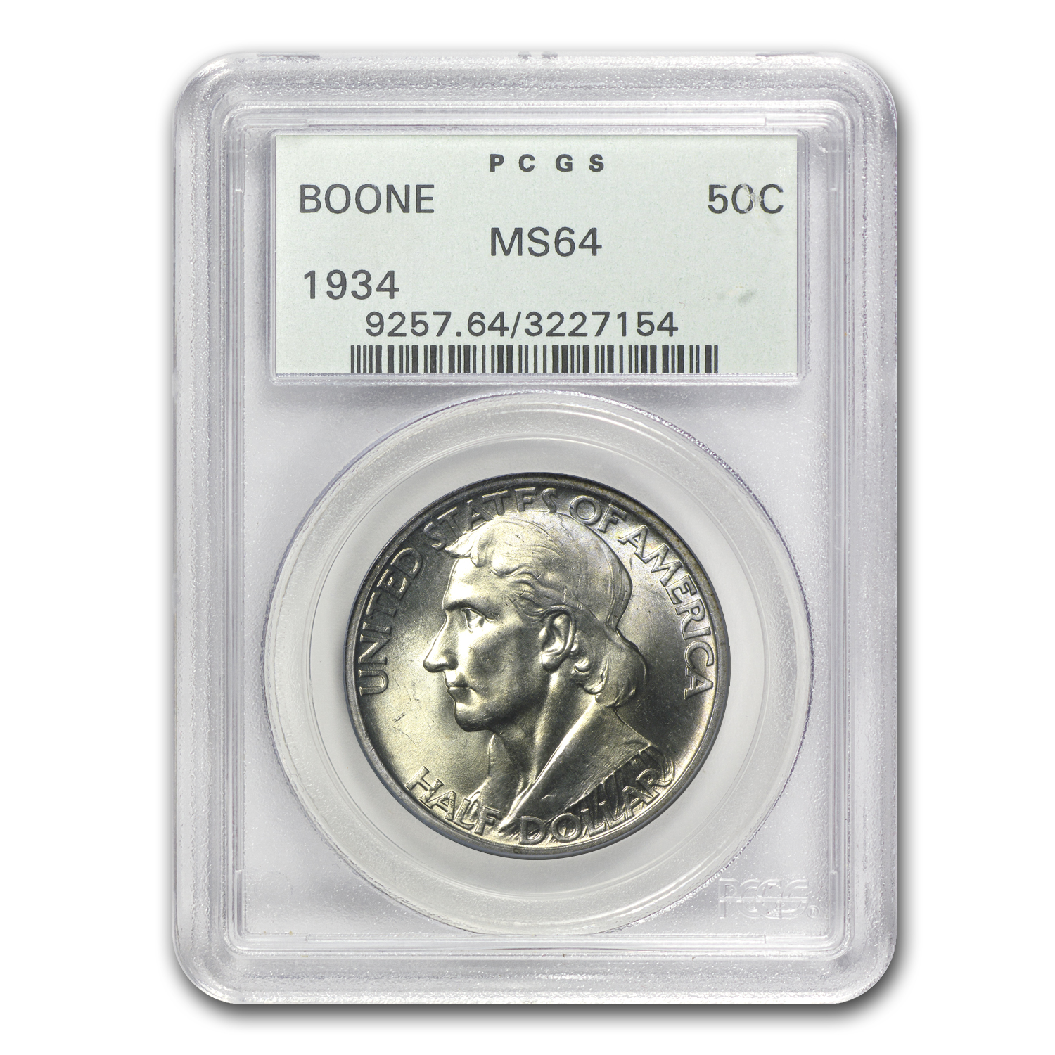 1934 Boone MS-64 PCGS